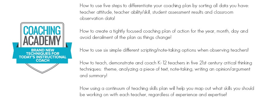 coaching academy banner Professional Development