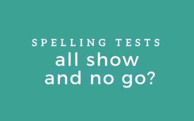 Spelling Tests: All Show and No Go?