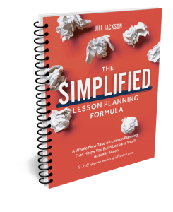 The Simplified Lesson Planning Formula