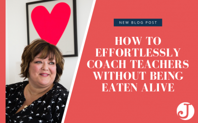 How to Effortlessly Coach Teachers without Being Eaten Alive