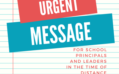 Urgent Letter to School Principals and Leaders